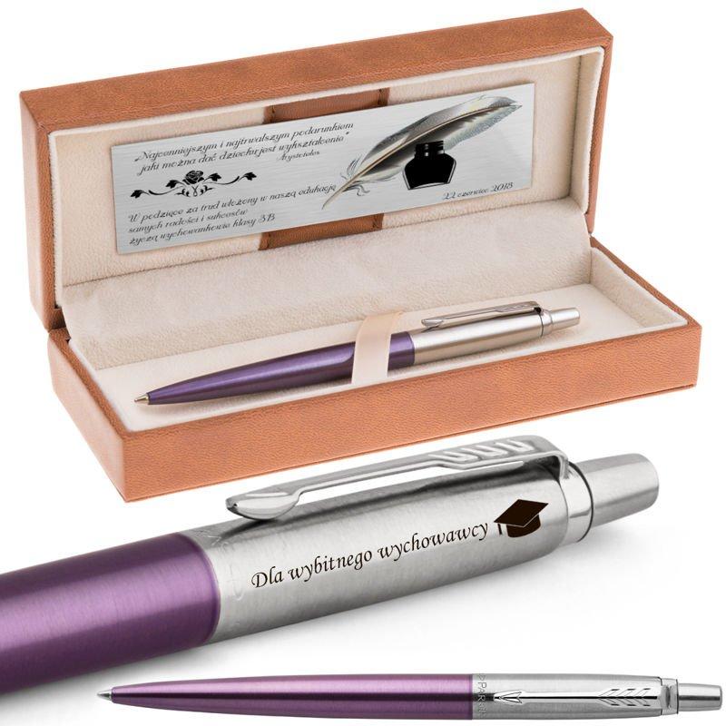Długopis Parker Jotter CT Victoria Violet Grawer