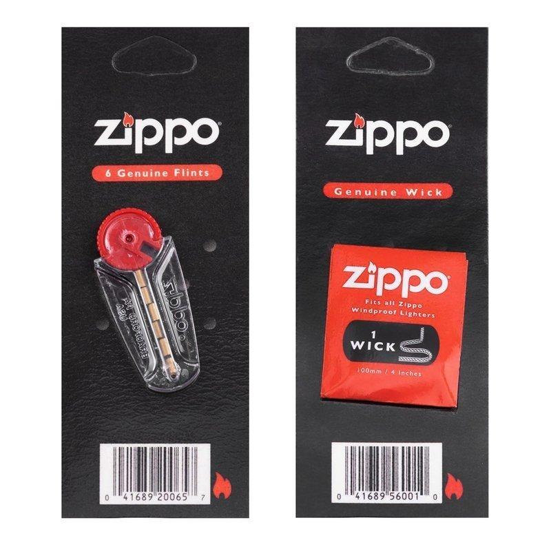 Knoty i kamienie do zapalniczek Zippo * Oryginalne