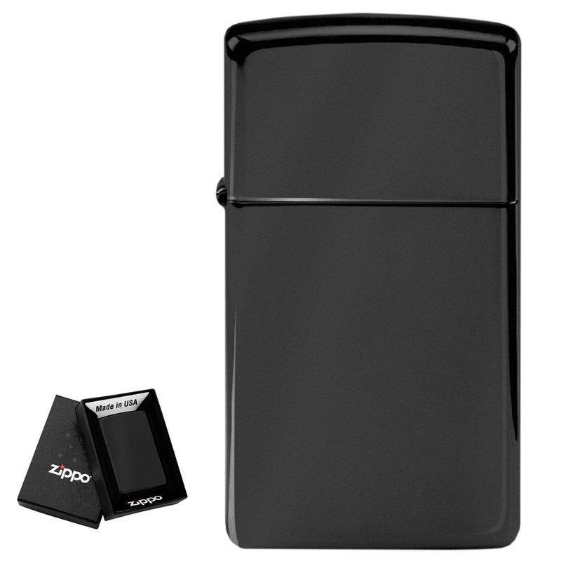 Zapalniczka ZIPPO Z1618 Slim Black Prezent