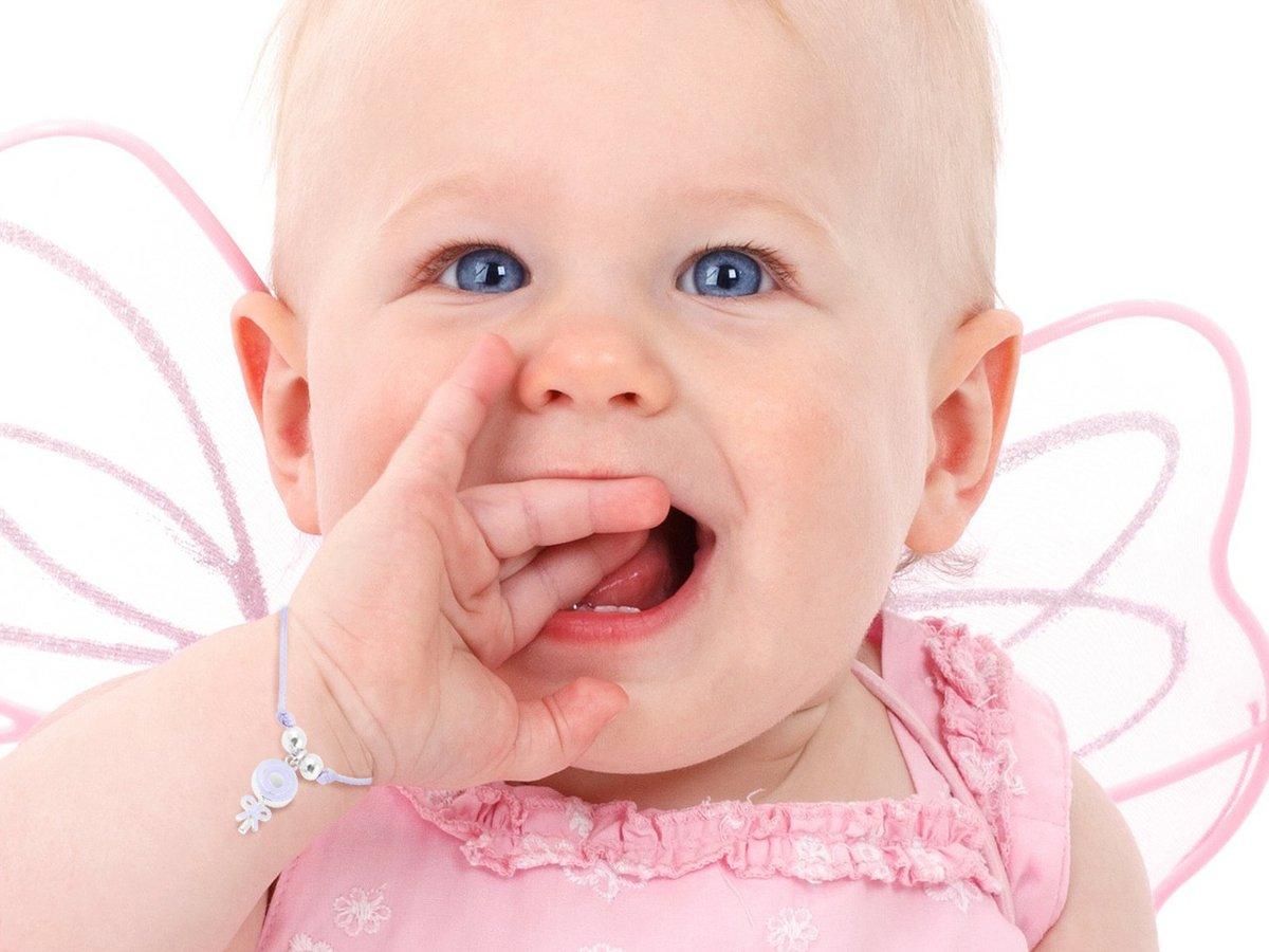 Bransoletka dziecięca sznurkowa pr. 925 fioletowy lizak z kokardką DEDYKACJA