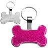 Identyfikator dla psa różowa kość Grawer 2