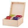 Pudełko drewniane na herbatę herbaciarka dla Babci Mamy z Nadrukiem 5